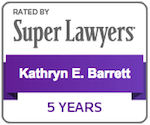 Kathryn E. Barret Super Lawyer Badge